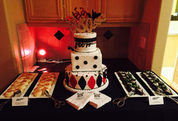 James Bond Dessert display