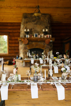 Table Setting for Wedding in Denver