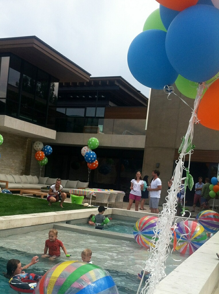 pool party event planning denver