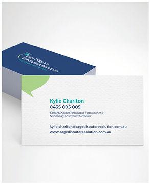 Sage Business Card Design