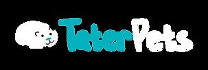 Tater Pets Logo Landscape Reversed Versi