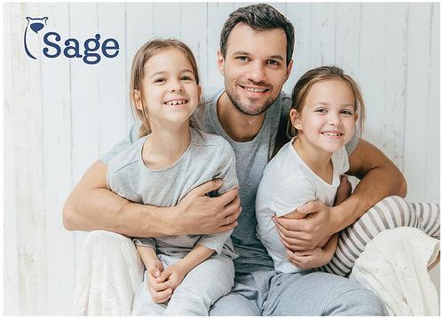 Sage Mediation Sub Logo Design