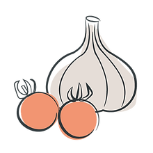 Cherrie Tomato and Garlic.png