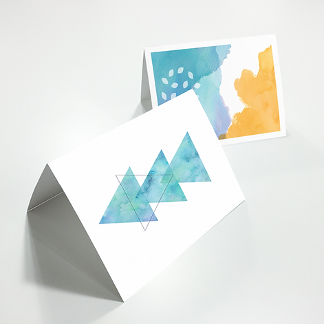 Illustrated Gift Cards