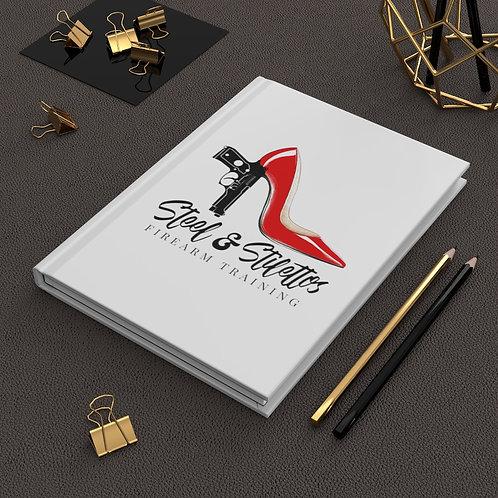 Steel and Stilettos Hardcover Journal Matte