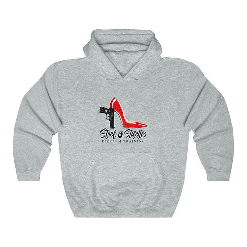 Steel and Stilettos Unisex Heavy Blend™ Hooded Sweatshirt