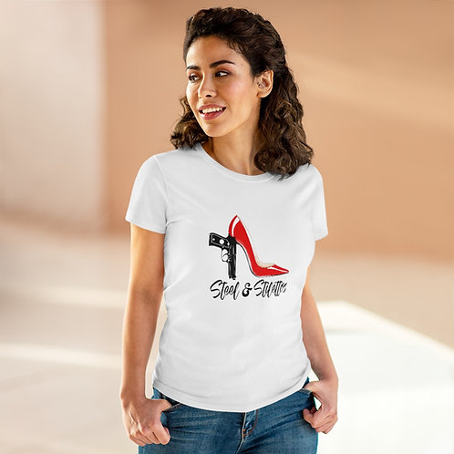 Steel and Stilettos Women's Heavy Cotton Tee