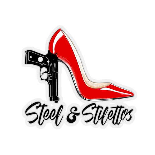 Steel and Stilettos Firearm Training Stickers