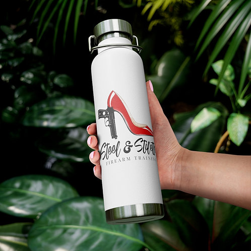 Steel and Stilettos 22oz Vacuum Insulated Bottle