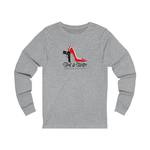 Steel and Stilettos Unisex Jersey Long Sleeve Tee