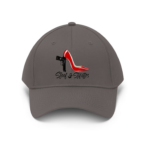 Steel and Stilettos Unisex Twill Hat
