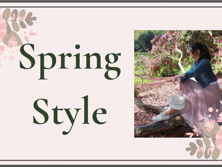 Spring Style - Alternatives to Florals