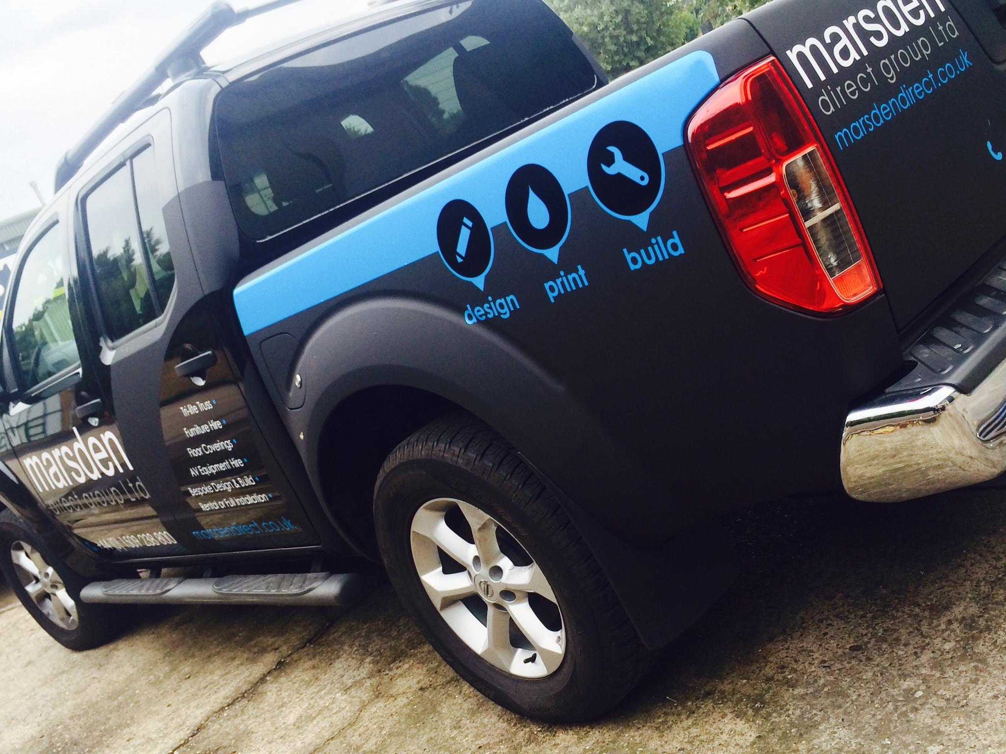 Marsden Direct vehicle