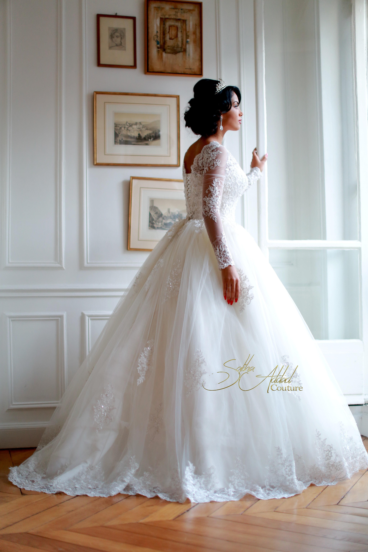 negafa prestige luxe robe de mariee linda