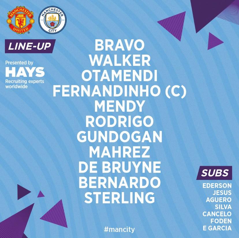 Team lineup sponsored by Hays