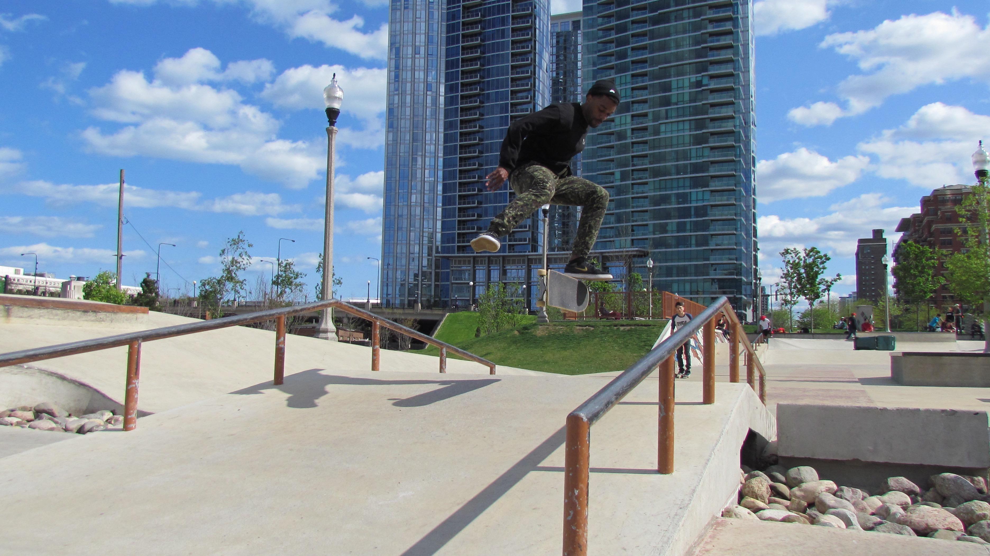 Grant Park Skate Park - 5