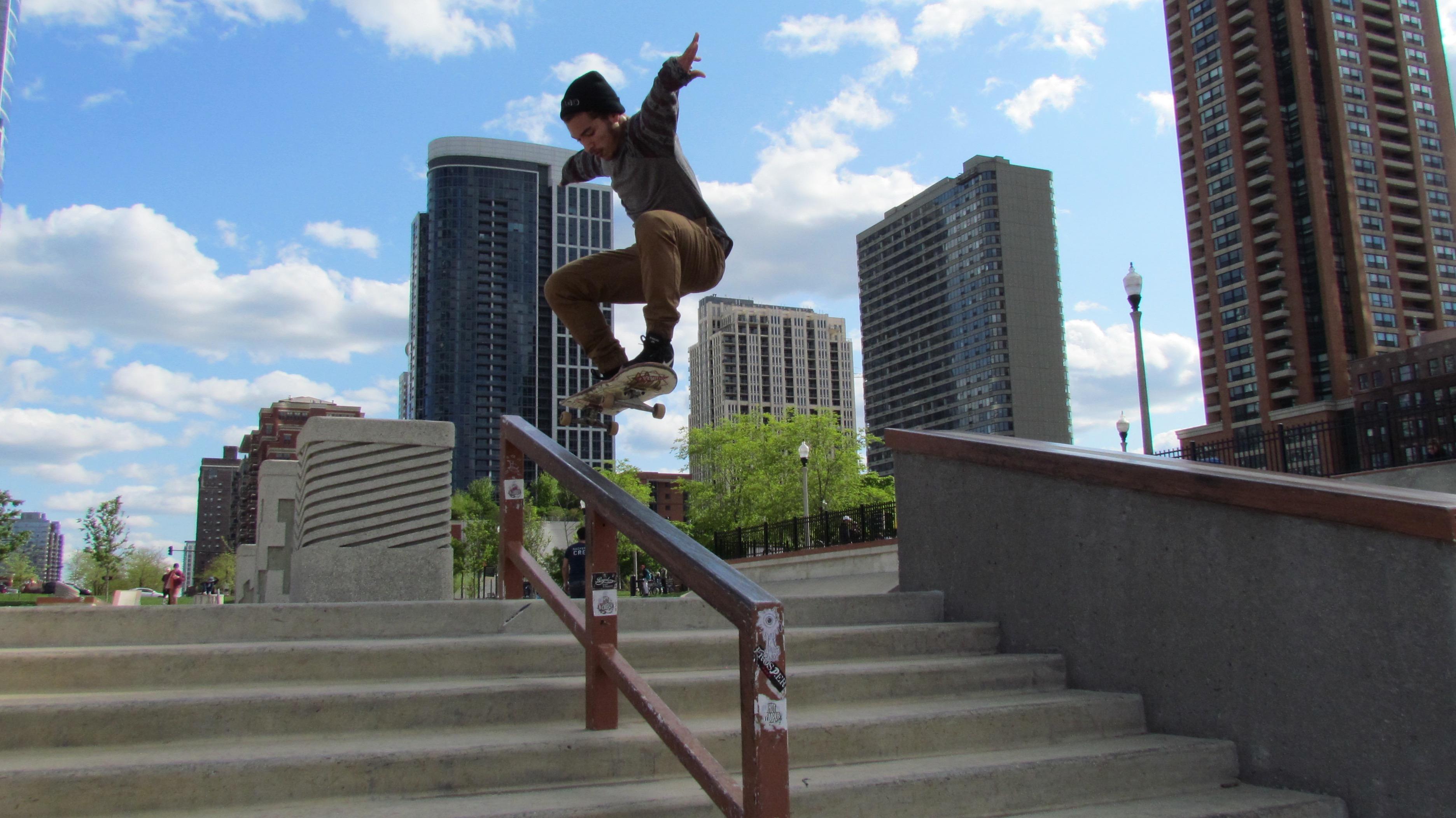 Grant Park Skate Park - 1