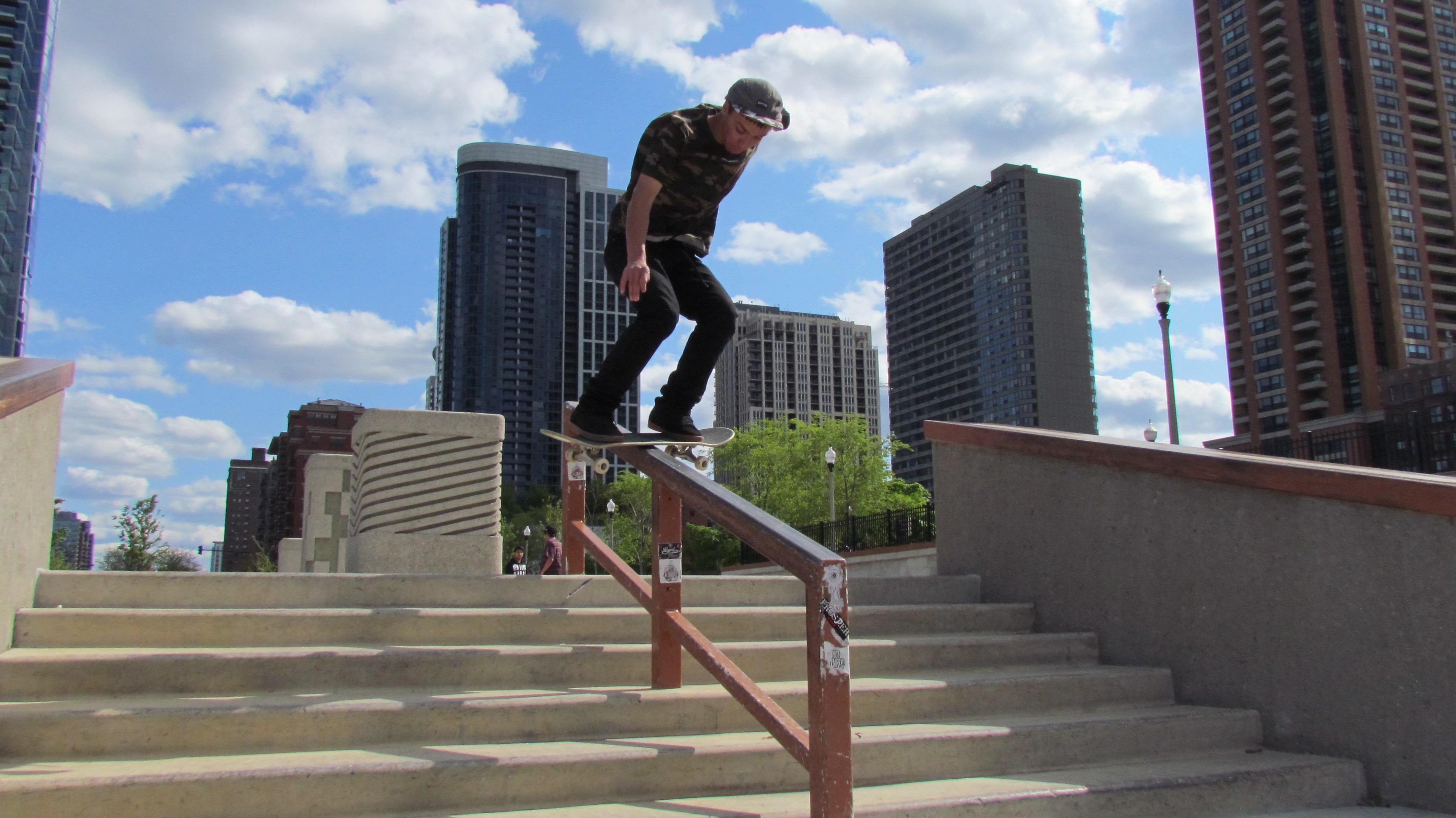 Grant Park Skate Park - 4