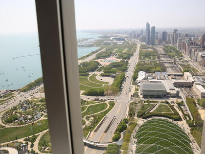 New Aon Center Observatory Proposed + Benefit at South Loop's Weather Mark Tavern for Paul Bauer