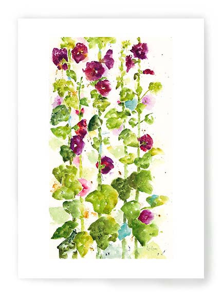 Hollyhocks C044