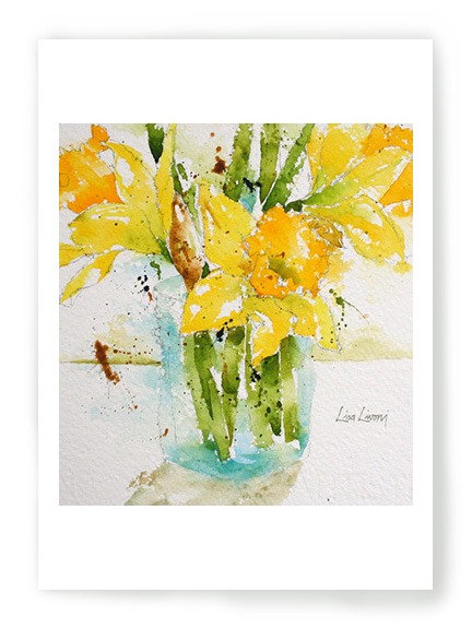 Jar of Daffodils C015