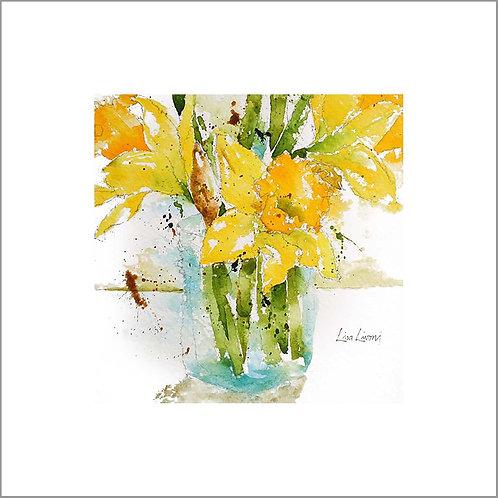 Jar of Daffodils