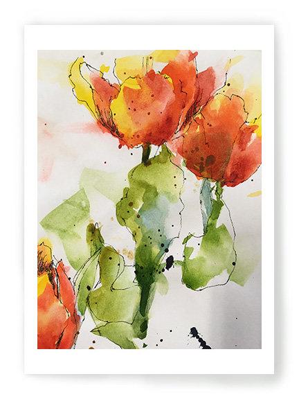 Tulips of Fire C045