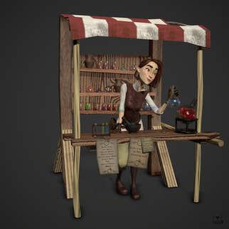 Alchemist's Festival Booth