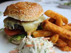 The Famous Virgin & Castle Burger with C