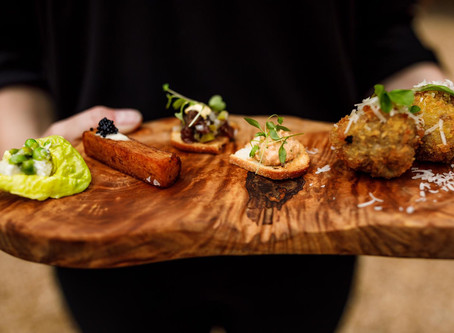20 delicious canape ideas for your drinks reception
