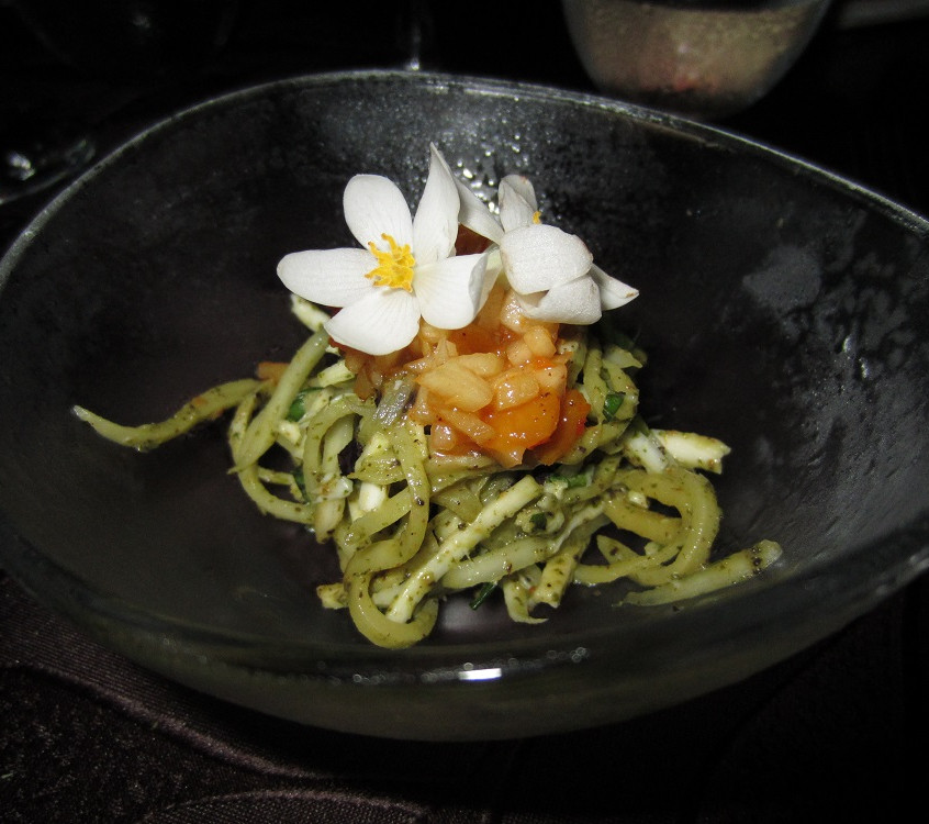 Salad flowers central america food