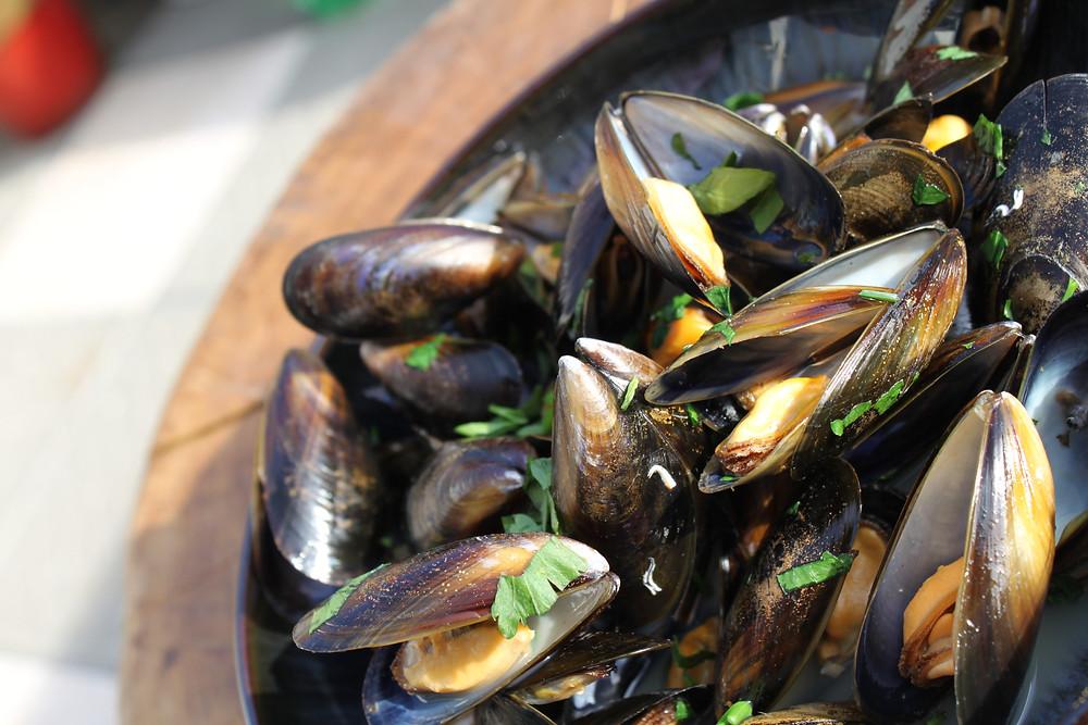 Mussels - bbq ideas