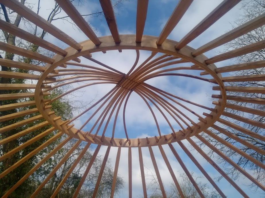 Craft and design of yurt construction