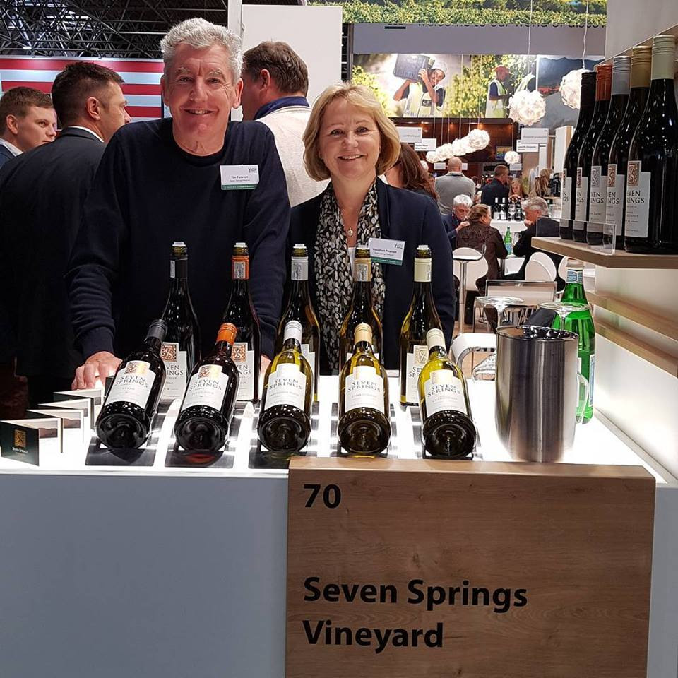 Tim & Vaughan from Seven Springs wine