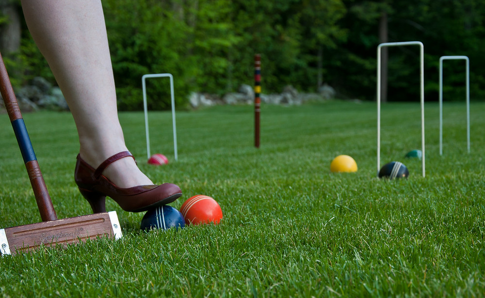Garden games and entertainment at your wedding
