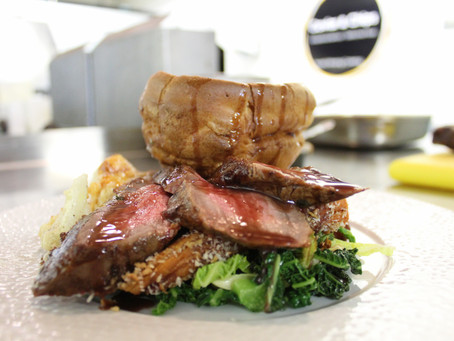 A Classic Beef Sunday Roast - Caviar & Chips Style