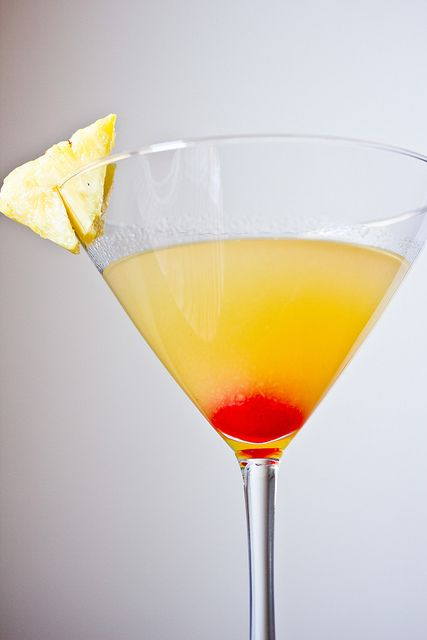 Up-side down Martini - gin