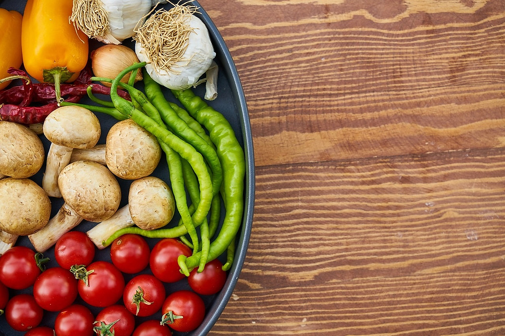 Seasonality of ingredients in menu planning