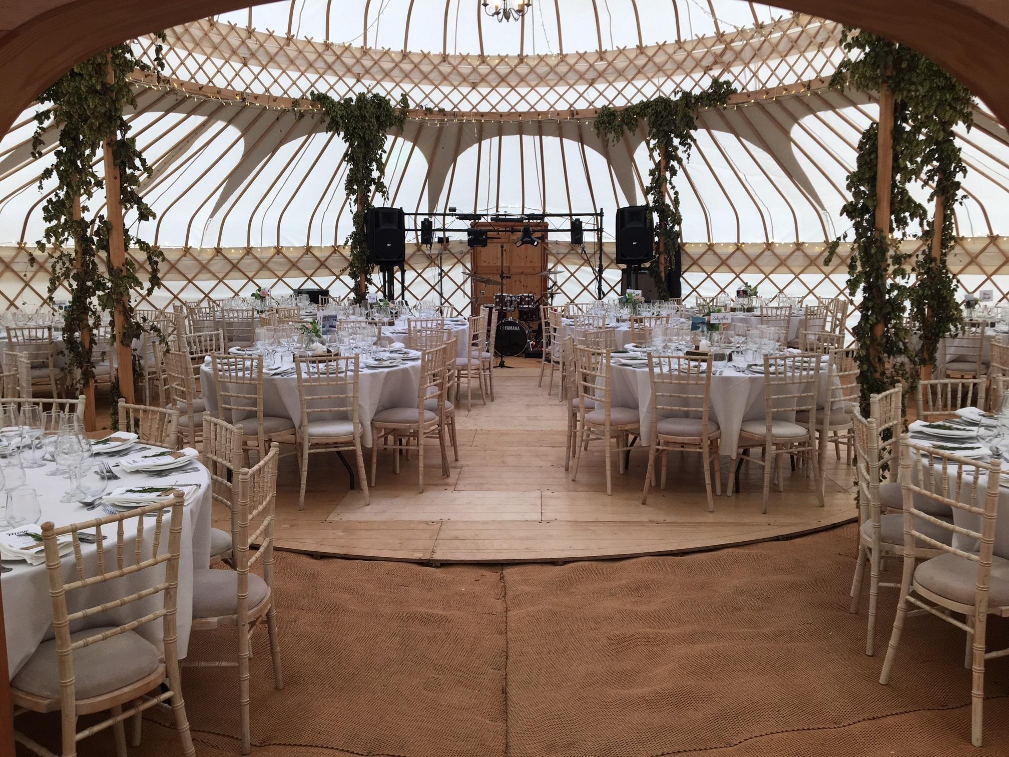 Yurts by the Yurt Maker