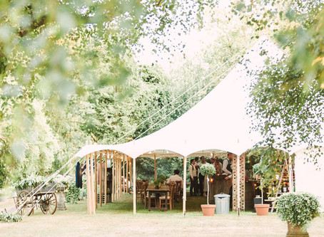 Top five tips for planning the marquee wedding of your dreams