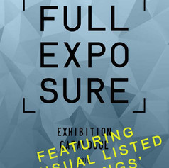 FULL EXPOSURE 2017 IS THE TITLE OF A GROUP EXHIBITION FROM MY 3RD YEAR IN THE UNIVERSITY OF BOLTON: PHOTOGRAPHIC DEGREE COURSE
