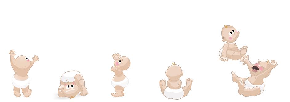 Les bébés à la crèche