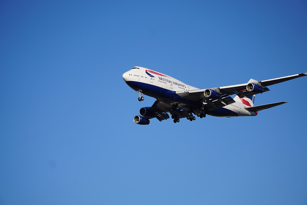 British Airways Boeing 747, Queen of the Skies, takes final flight