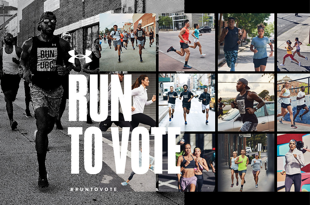 Under Armour Run to Vote Campaign