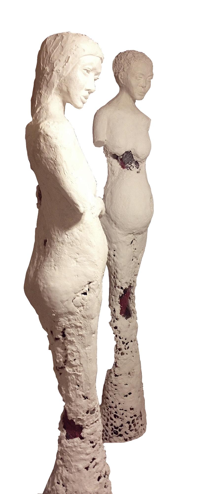 Venus de Bukavu and Madonna de Kivu