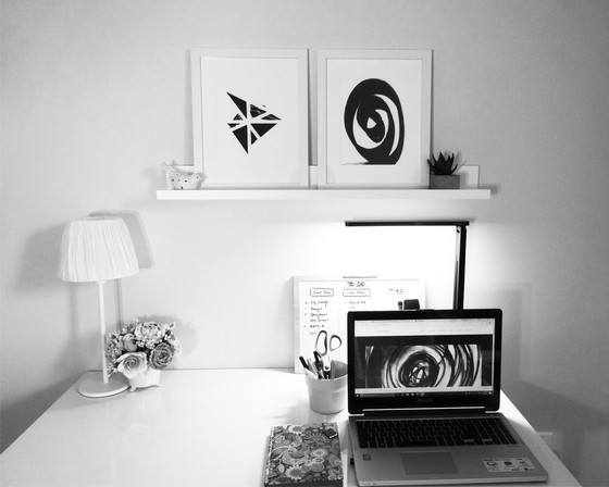 My home office and studio