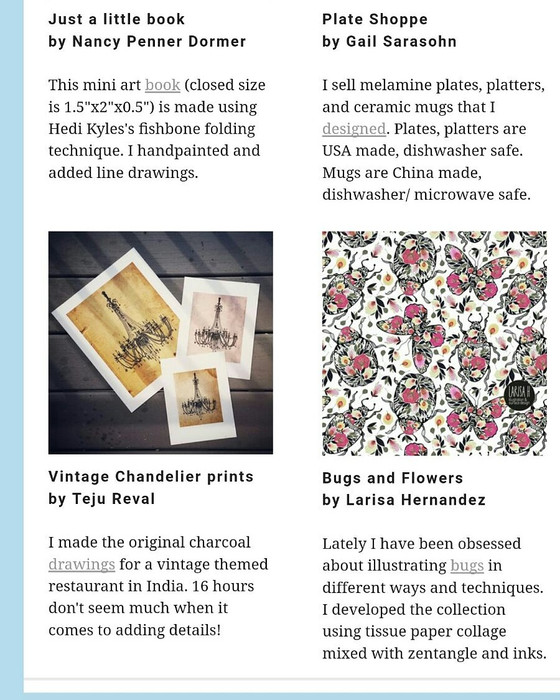 """Featured in """"All About You"""" newsletter from UPPERCASE Magazine!!!"""
