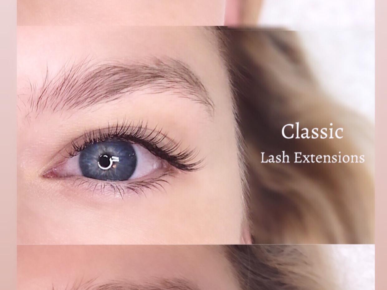 Classic Lash Extensions vs Lash Lift