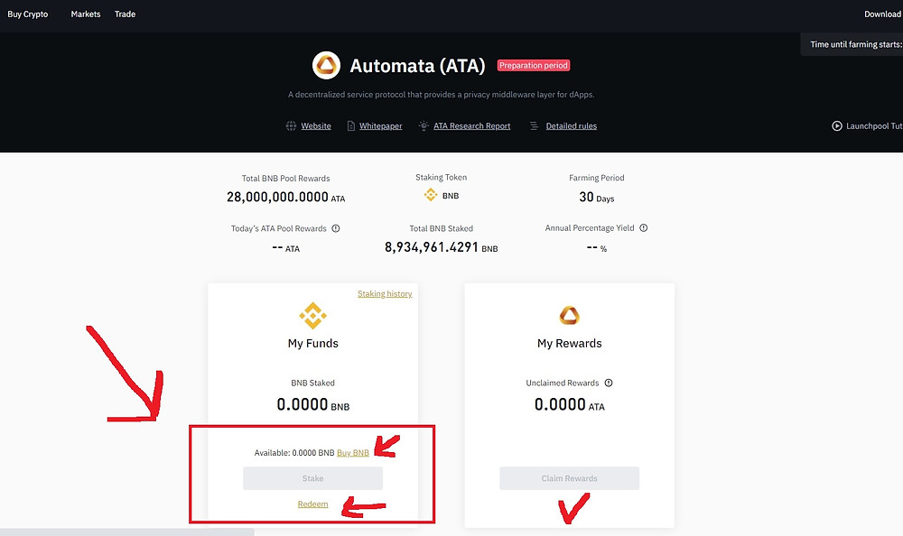 What is Automata Network (ATA) How to Buy How to stake on Binance