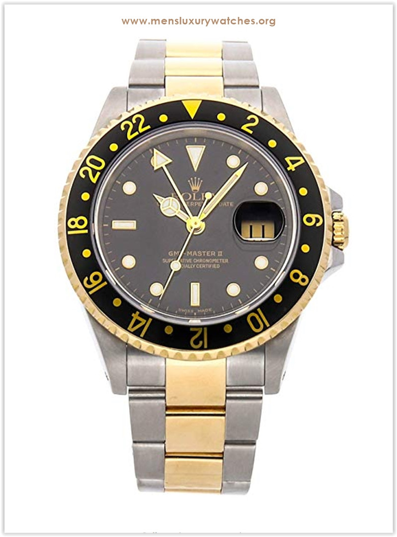 Rolex GMT Master II Mechanical (Automatic) Black Dial Men's Watch the best price